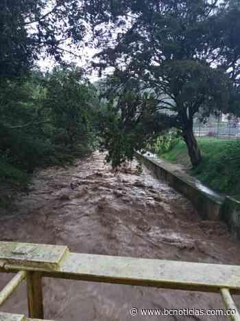 Reportan crecimiento del río Risaralda a su paso por Viterbo - BC Noticias