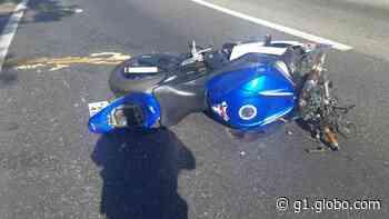 Homem morre em acidente de moto na subida da Serra das Araras - G1