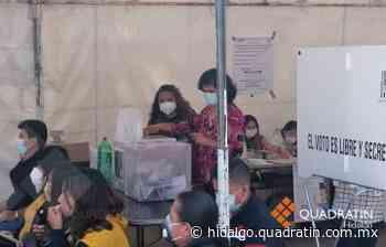 Sesión del INE en receso, esperan informes sobre situación en Tepeji - Quadratín Hidalgo