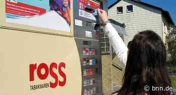 Unbekannte versuchen Zigarettenautomaten in Karlsruhe und Dettenheim zu stehlen - BNN - Badische Neueste Nachrichten