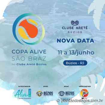 Búzios sedia Torneio de Beach Tênis no Clube Aretê - Plantao dos Lagos