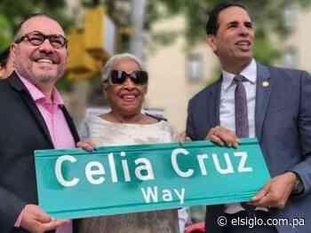 Nombran calle en honor a la gran Celia Cruz - El Siglo Panamá