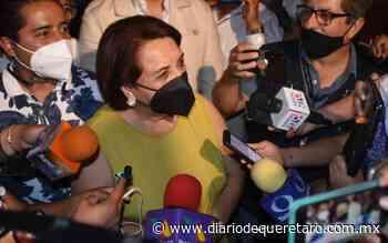 Celia Maya se dice optimista por los resultados de la elección - Diario de Querétaro