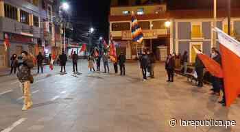 Convocan a marchas en Puno y Juliaca por presunto fraude electoral - LaRepública.pe