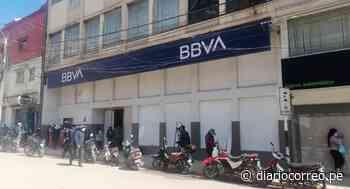 Entidades bancarias protegen sus instalaciones en Juliaca - Diario Correo