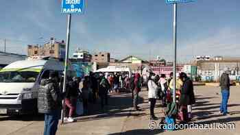 Juliaca: Se registran largas colas en el terminal zonal Las Mercedes - Radio Onda Azul
