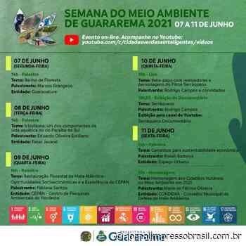 Junho Verde: Guararema dá início à programação da Semana do Meio Ambiente - Jornal Impresso Brasil