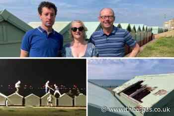 Brighton beach hut owners warn of 'summer of mayhem'