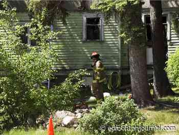 Edmonton fire crews fight blaze in Westmount home, no injuries reported - Edmonton Journal
