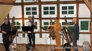 Kunsthaus Wäldchen in Forst: Saxofonklänge begleiten Erwachen der Kultur - Rhein-Zeitung