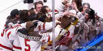 Eishockey-WM: Kanada wird im packenden Endspiel gegen Finnland Weltmeister - FOCUS Online