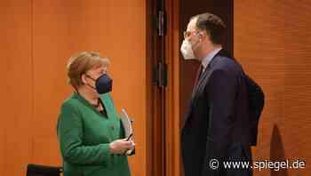 Nach Maskenvorwürfen: Merkel nimmt Spahn in Schutz - DER SPIEGEL