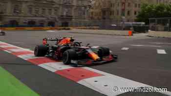 Checo Pérez ganó el accidentado Gran Premio de Azerbaiyán de Formula 1 - MDZ Online