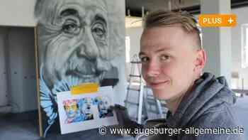 Er hat sein Hobby zum Beruf gemacht: Graffiti-Künstler sprayt in Illertissen - Augsburger Allgemeine