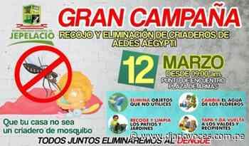 Distrito de Jepelacio hoy realiza recojo de inservibles - Diario Voces