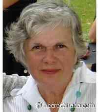 Gwendolyn Anne Bard Ray Sunday June 6th 2021 - NecrologieCanada