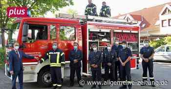 Neues Löschfahrzeug für Feuerwehr Armsheim - Allgemeine Zeitung