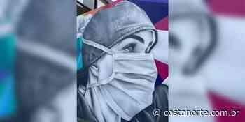 Hospital de Ilhabela (SP) ganha mural em homenagem aos profissionais da saúde - Jornal Costa Norte