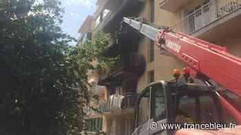 Important incendie à Ajaccio : une cinquantaine de personnes évacuées - France Bleu