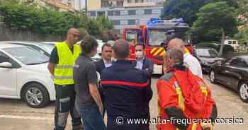 Important incendie dans un immeuble à Ajaccio - Alta Frequenza