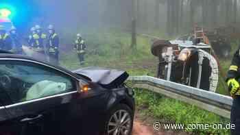 Ursache noch unklar: Heftiger Unfall auf der K11 in Balve - come-on.de