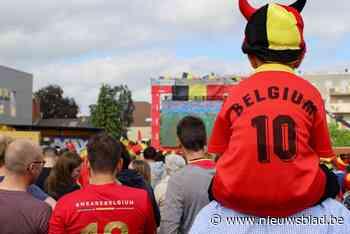 Matchen Rode Duivels op grootste scherm van het Meetjesland - Het Nieuwsblad