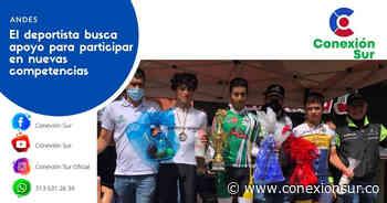 El ciclista andino Cristian Moncada Giraldo voló en Yarumal - ConexionSur
