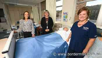 NSW TAFE Albury and AWH join in MoU as Diploma of Nursing is launched - The Border Mail