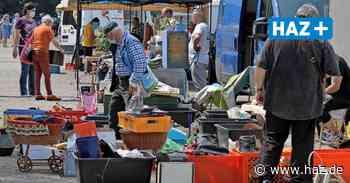 Langenhagen: Flohmarkt auf der Neuen Bult ist gut besucht - Hannoversche Allgemeine
