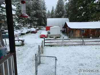 Snow near Osoyoos signals cool, wet start to week in Okanagan, Kamloops   iNFOnews   Thompson-Okanagan's News Source - iNFOnews