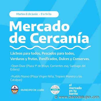 El Mercado de Cercanía llega a Pueblo Nuevo y Open Door - El Diario de Lujan