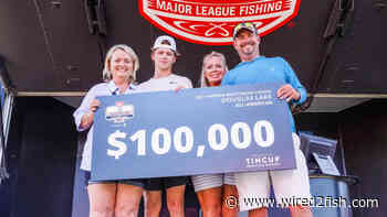 Brant Grimm Wins 2021 All-American on Douglas Lake - Wired2Fish
