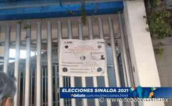 Hacen esperar a votantes en casilla del Colegio de Valle en Montebello, Culiacán - Debate