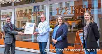 Bäckerei Welling aus Saarwellingen von Umweltminister Jost ausgezeichnet - Saarbrücker Zeitung