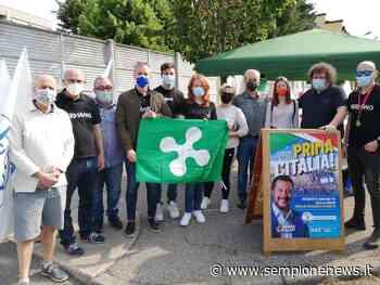 """La Lega di Nerviano torna sul territorio con il primo gazebo """"post Covid"""" - Sempione News"""