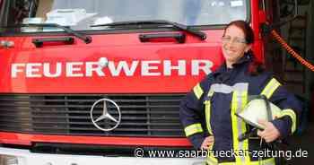 Melanie Faas istJugendwartin der Wehr im Löschbezirk Bliesransbach. - Saarbrücker Zeitung
