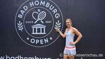 Tennis: Angelique Kerber spielt in Bad Homburg vor 600 Zuschauern - hessenschau.de