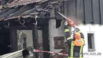 Nach Brand von Fachwerkhaus in Tecklenburg Ursache weiter unklar - noz.de - Neue Osnabrücker Zeitung