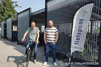 Voortaan ook deelfietsen aan station in Zele (Zele) - Het Nieuwsblad