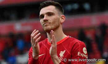 Robertson to renew Liverpool-Scotland tournament connection