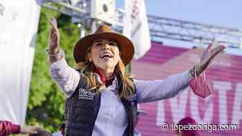 Aventaja María del Pilar Ávila en la elección para gobernador en Baja California - López-Dóriga