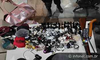 Preso o trio suspeito de roubar loja a cavalo em Itaporanga D'Ajuda - Infonet