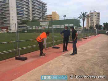 Arrancan las obras de remodelación del campo de fútbol de Oropesa - Todo Oropesa