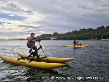 Waterbiking across the Swan River is an adventure to be had - Have a Go News