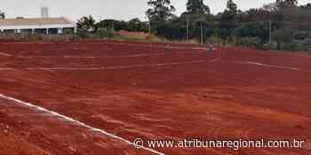 Complexo Esportivo começa a ser construído em Cravinhos - A Tribuna Regional