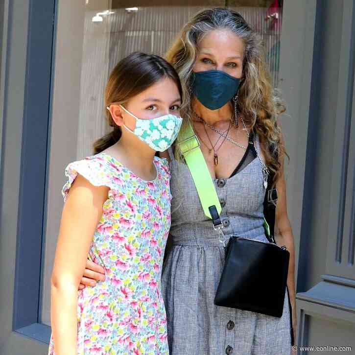 Sarah Jessica Parker's Daughter Tabitha Is a Budding Fashionista and Carrie Bradshaw Would Approve - E! NEWS