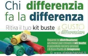 Gragnano - Raccolta differenziata, riparte la consegna dei kit buste - StabiaChannel.it