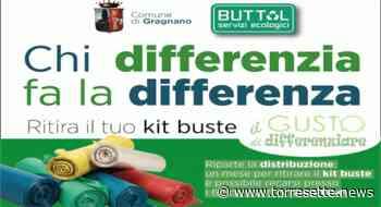 Gragnano - In distribuzione i kit per la raccolta differenziata - TorreSette