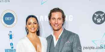 Matthew McConaughey Says Wife Camila Told Him to Not 'Half-Ass' His Decision to Leave Rom-Coms - PEOPLE