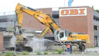 Jetzt geht's los: Abriss des Ems-Centers in Papenburg beginnt - NOZ